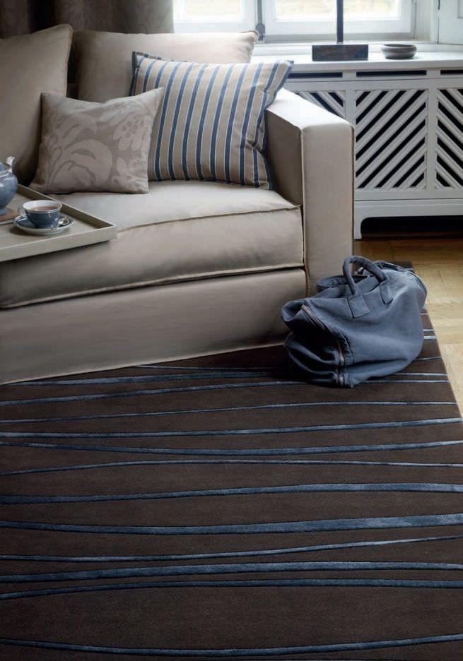 Tappeto moderno / in lana / a righe SINUS SAHCO Fine