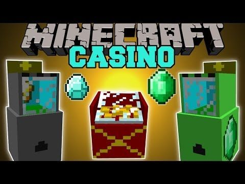Minecraft: CASINO MOD (SLOT MACHINES, PRIZES, DIAMONDS, & EMERALDS) Mod Showcase