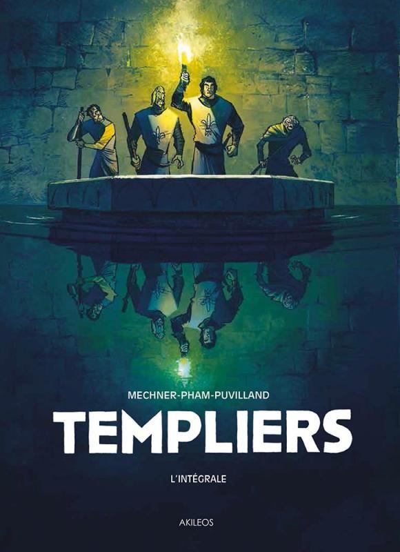 Templiers (Intégrale) Tomes 1-2 - (Alex Puvilland / LeUyen Pham / Jordan Mechner) - Aventure historique [TRIBULLES, une librairie du réseau Canal BD]