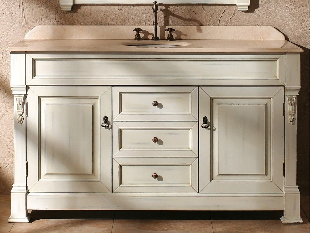 60 Inch Bathroom Vanity Single Sink  Best Bathroom Design  Home Amusing Design A Bathroom Vanity Design Inspiration