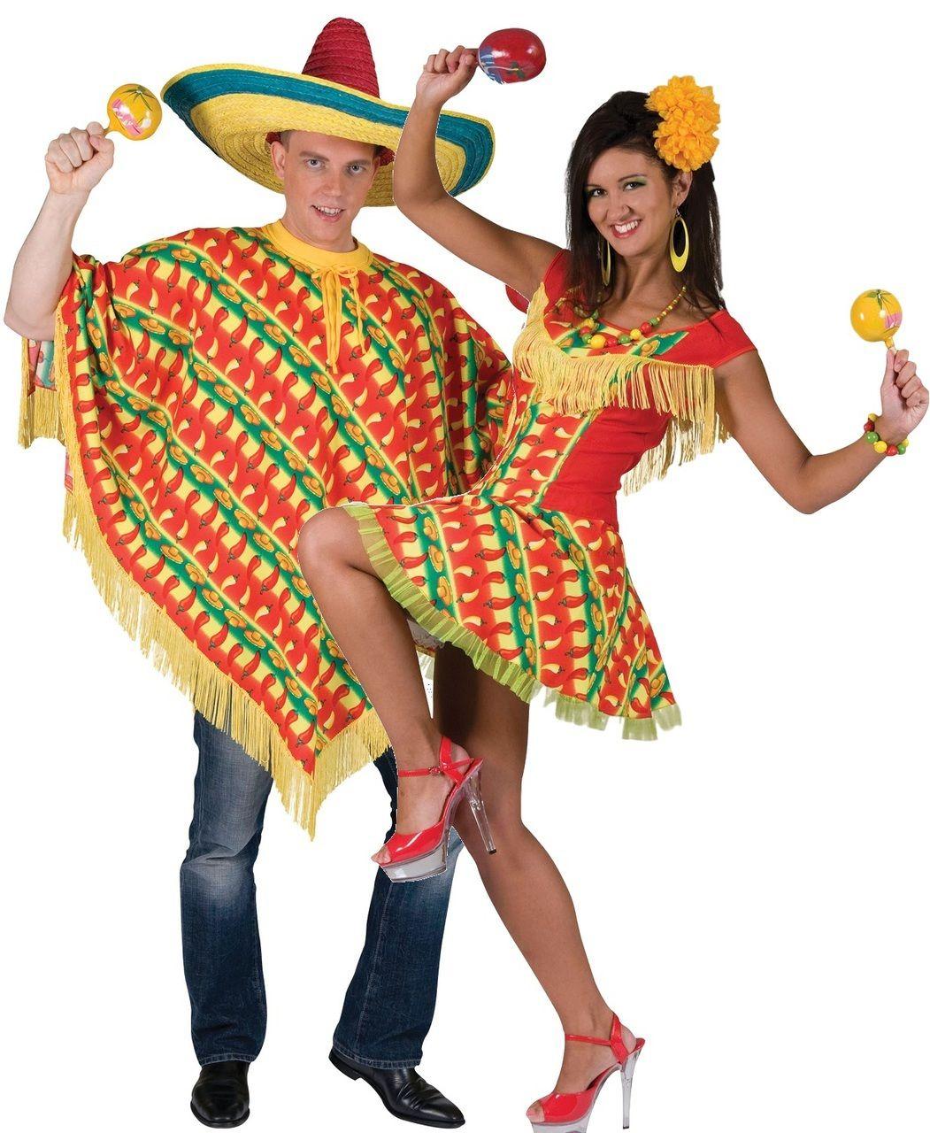 LADY messicana Abito per Fancy Dress Party