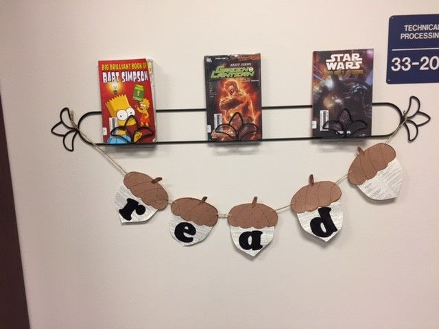 repurposed plate rack to a book display for the library & repurposed plate rack to a book display for the library | Library ...