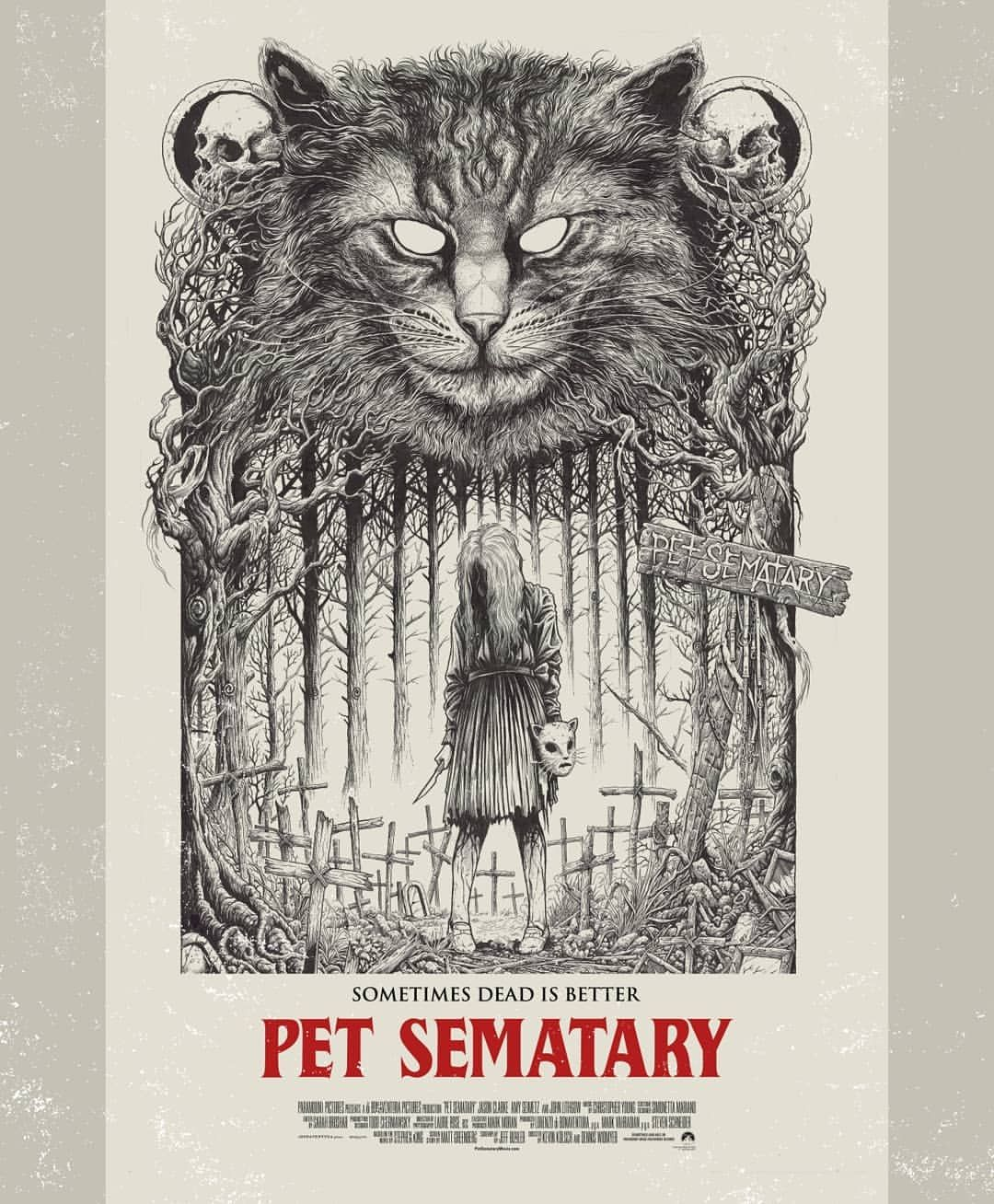 Pet Sematary Pet Sematary in 2019 Horror movie posters