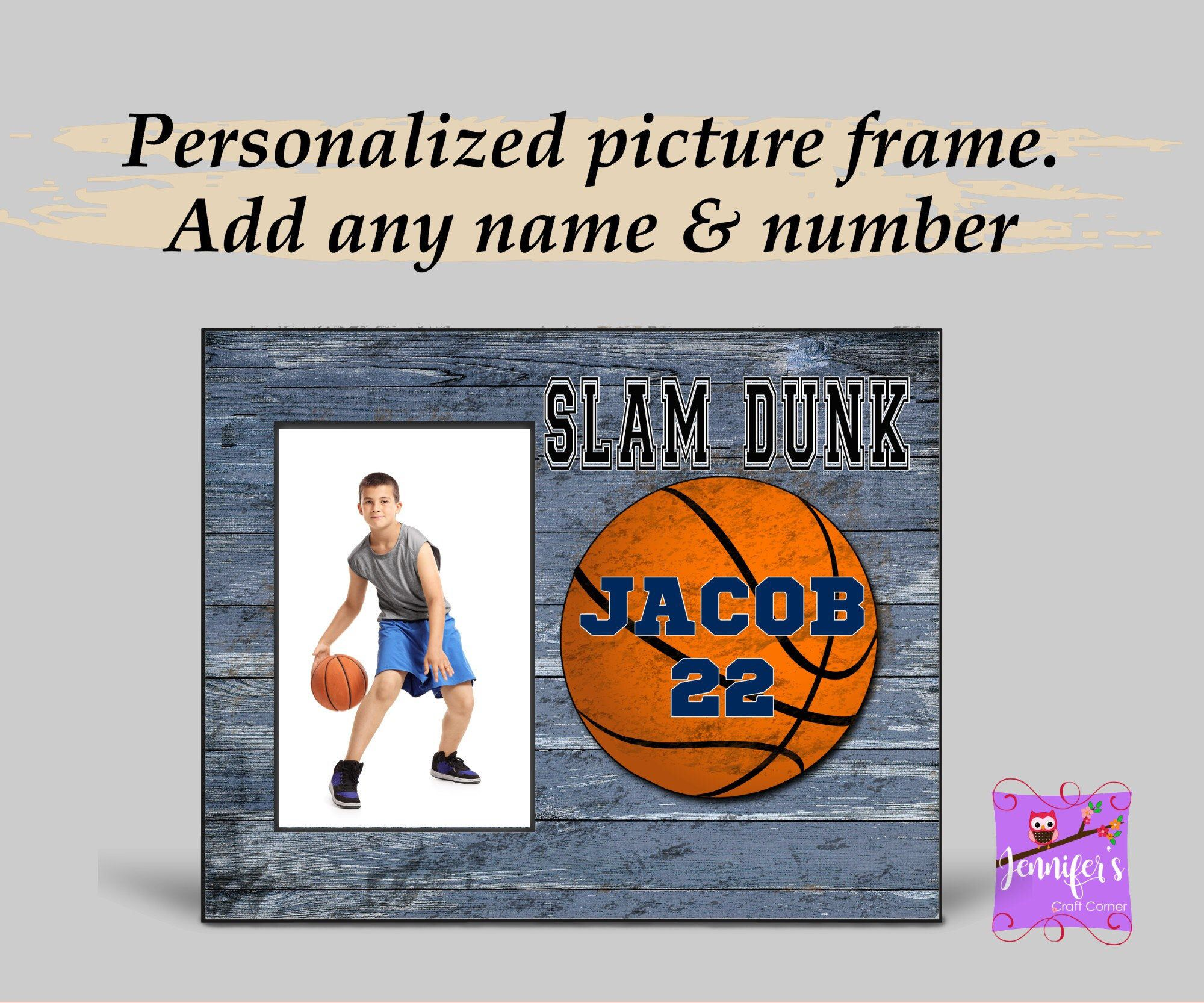 Personalized Basketball Picture Frame Sports Gift For Basketball Player Customized Gift For Athlete Basketball Team Gift Coach Gift Basketball Team Gifts Personalized Basketball Beautiful Personalized Gifts