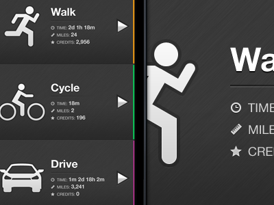 Elegant IPhone App Design / Home Screen