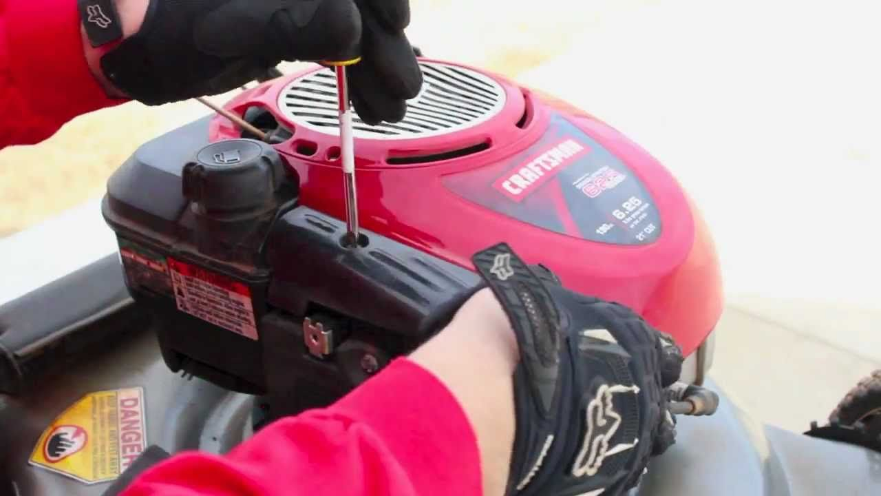 Watch how to complete a full tune up on your lawn mower to