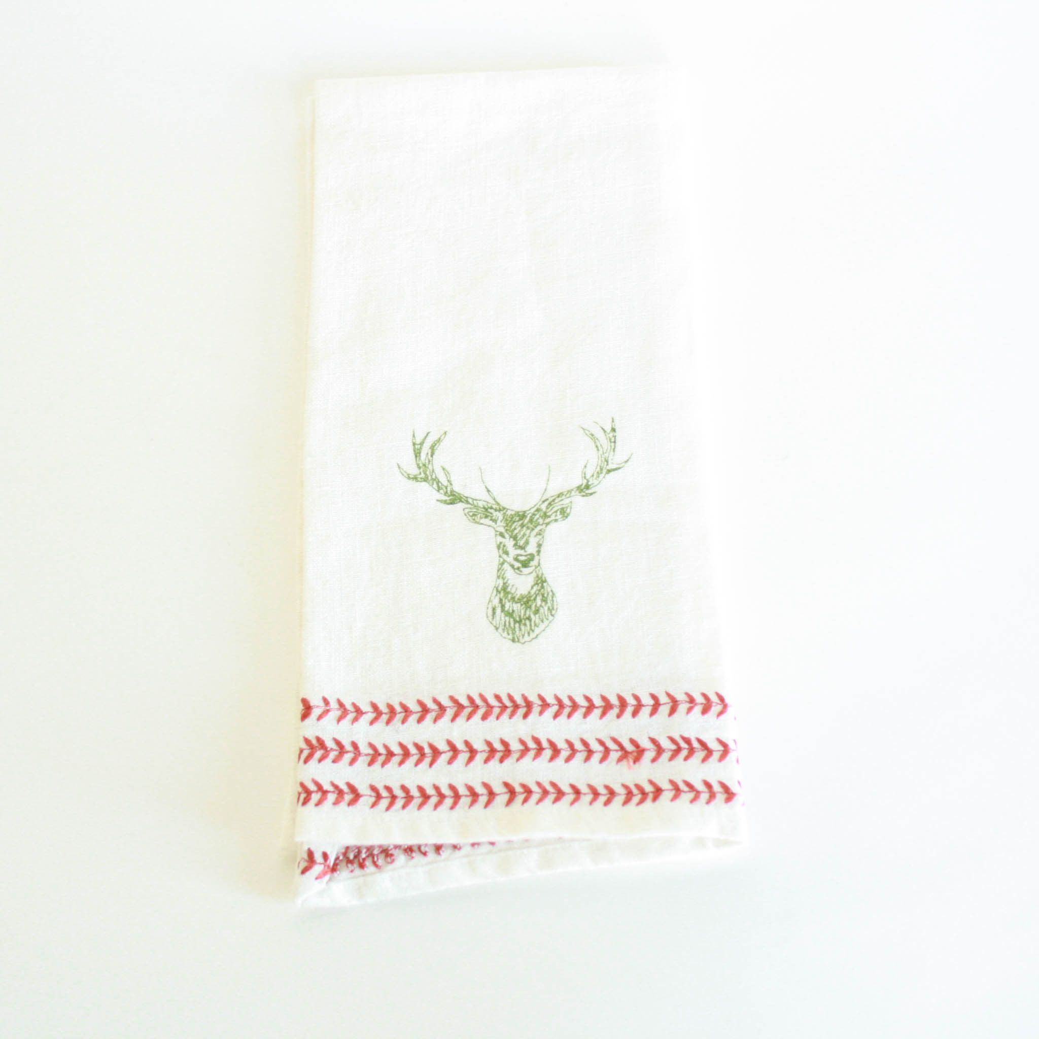 Stag Tea Towel |