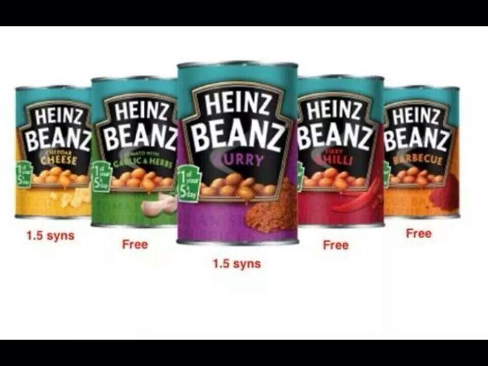 are baked beans free on slimming world extra easy