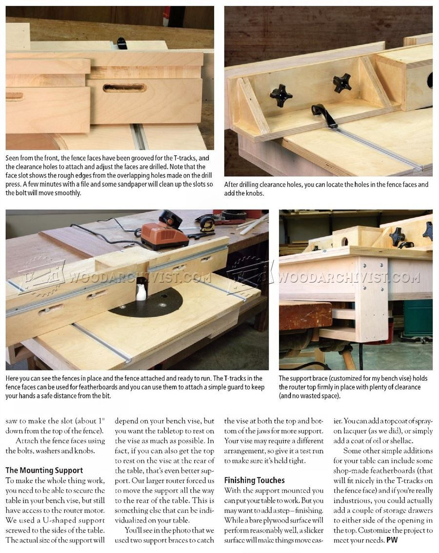 Super Bench Mounted Router Table Plans Router Workshop Gamerscity Chair Design For Home Gamerscityorg