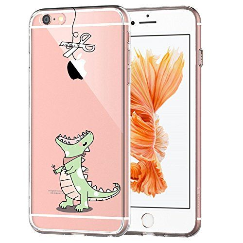 online store 7dcaf 0cee9 iPhone 7 Case JAHOLAN Amusing Whimsical Design Clear Bumper TPU Soft ...