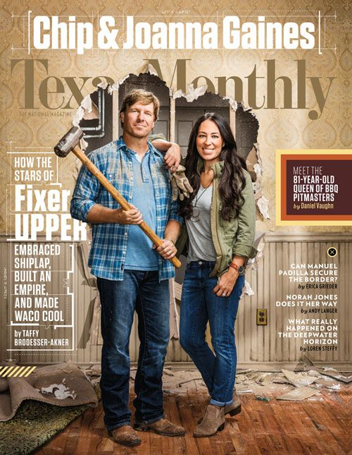 Chip And I Are So Honored To Be On The Cover Of For Their October Issue Your Hair Looks Good Joanna Stevens Gaines