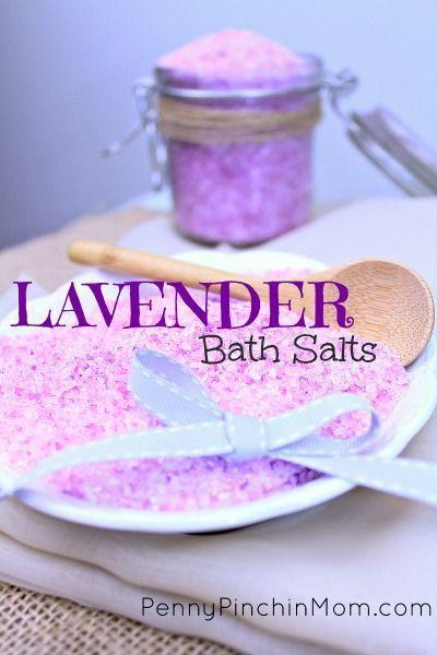 How To Make Lavender Bath Salts Bath Salts Diy Bath Salts Homemade Diy Bath Salts With Essential Oils