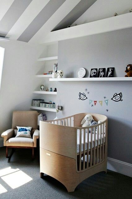 Leander cot such a beautiful clever design the bumps nursery pinterest clever design - Baby nursery ideas for small spaces style ...