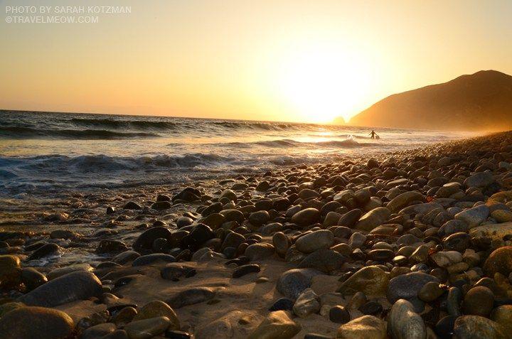 California Coastal Beach Camping