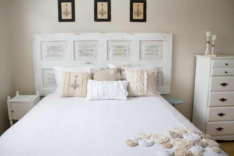 Shabby chic bedroom ideas shabby chic headboard cabinet for Diy shabby chic bedroom ideas