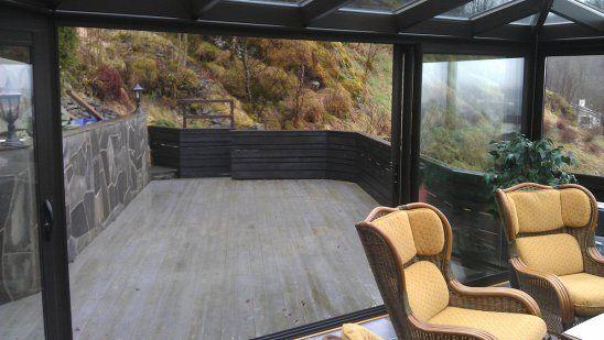 Vinterhager - veranda