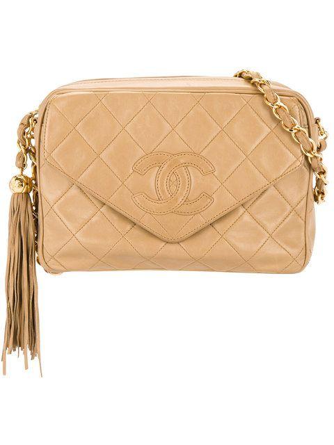 Chanel Vintage tassel flap shoulder bag