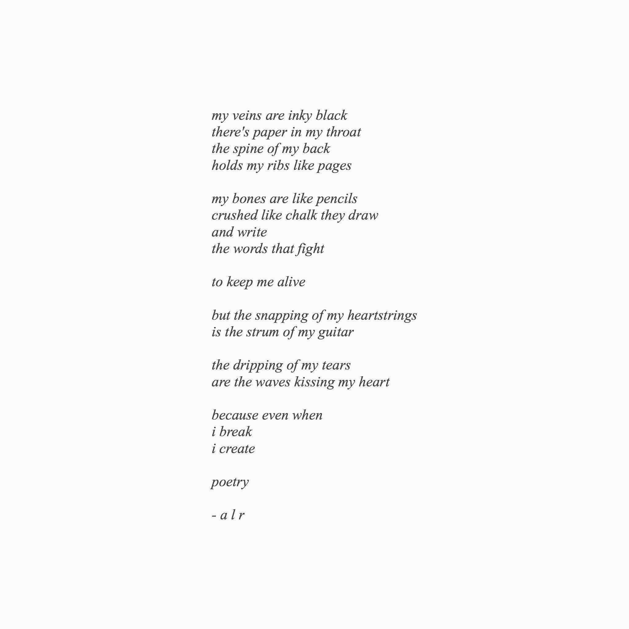 Hoe Poems 7