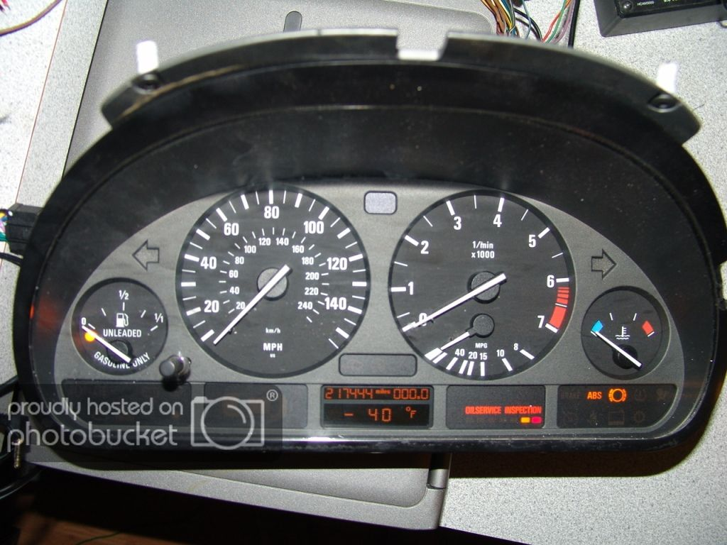 How To Power On E39 Cluster Out Of Car Bmw 528i Cluster Bmw Models