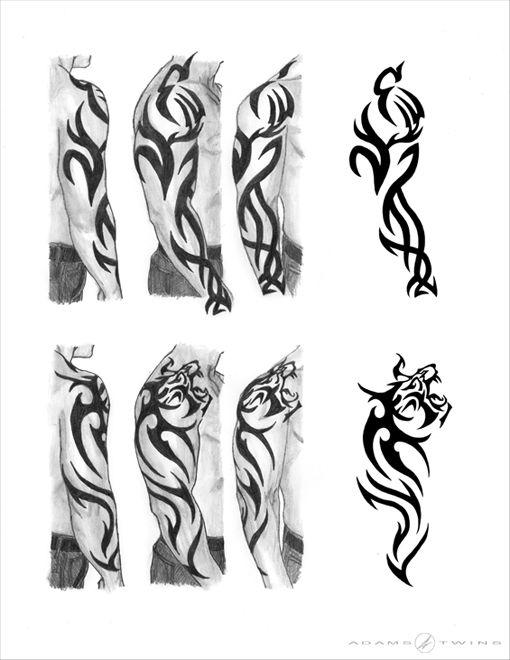 Tiger Sleeve Tattoo Tribal Tiger Tattoo Tribal Tattoos Tribal Arm Tattoos