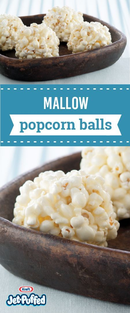 Mallow Popcorn Balls – Discover this recipe for amazing popcorn bites just in time for snacktime. Coat popcorn balls with a gooey marshmallow mixture for a yummy, dessert treat which your kids are sure to enjoy! #popcornballs