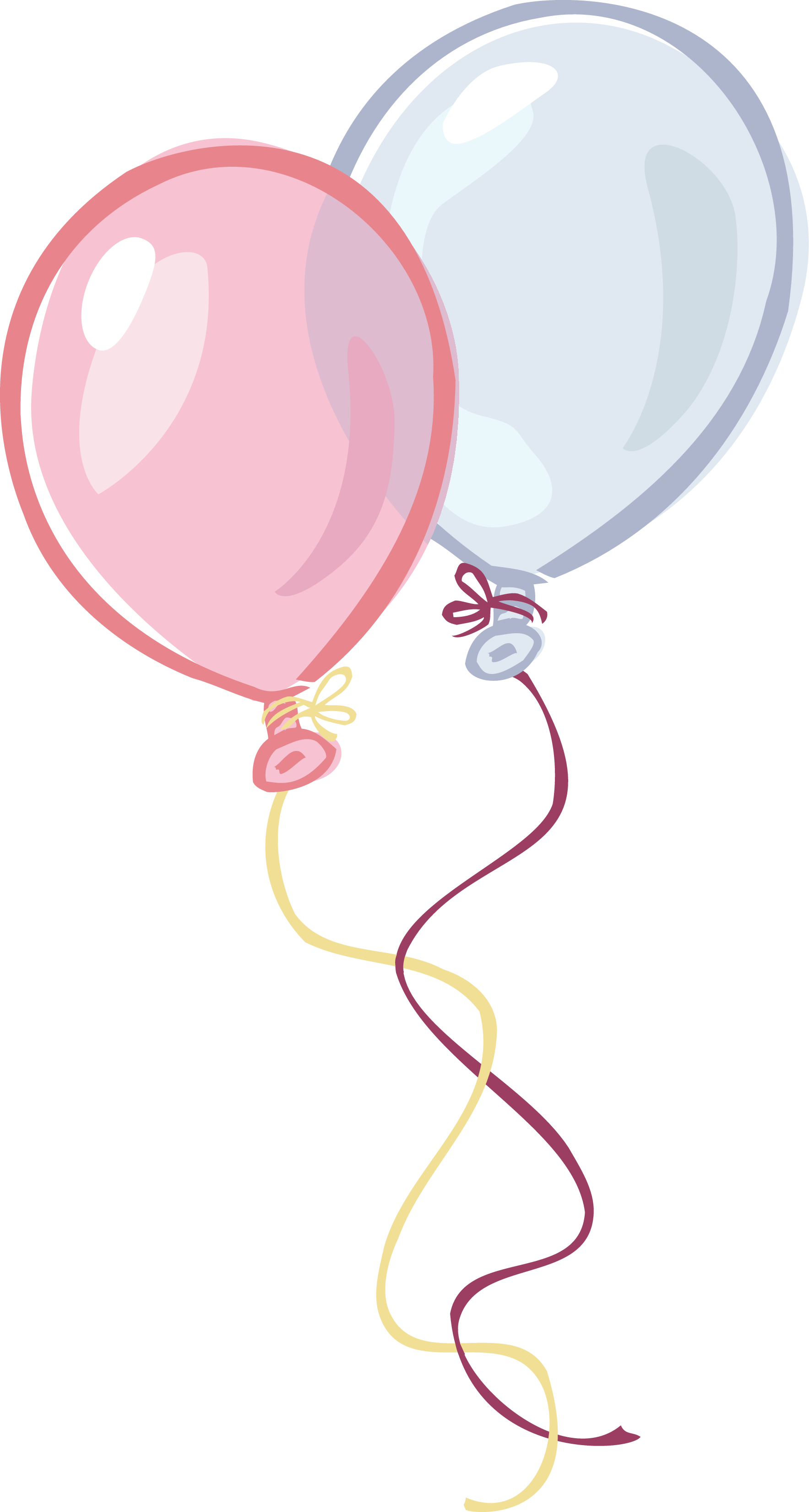 Pink And Blue Birthday Heart Balloons Valentine Purple Balloons Holiday Balloons
