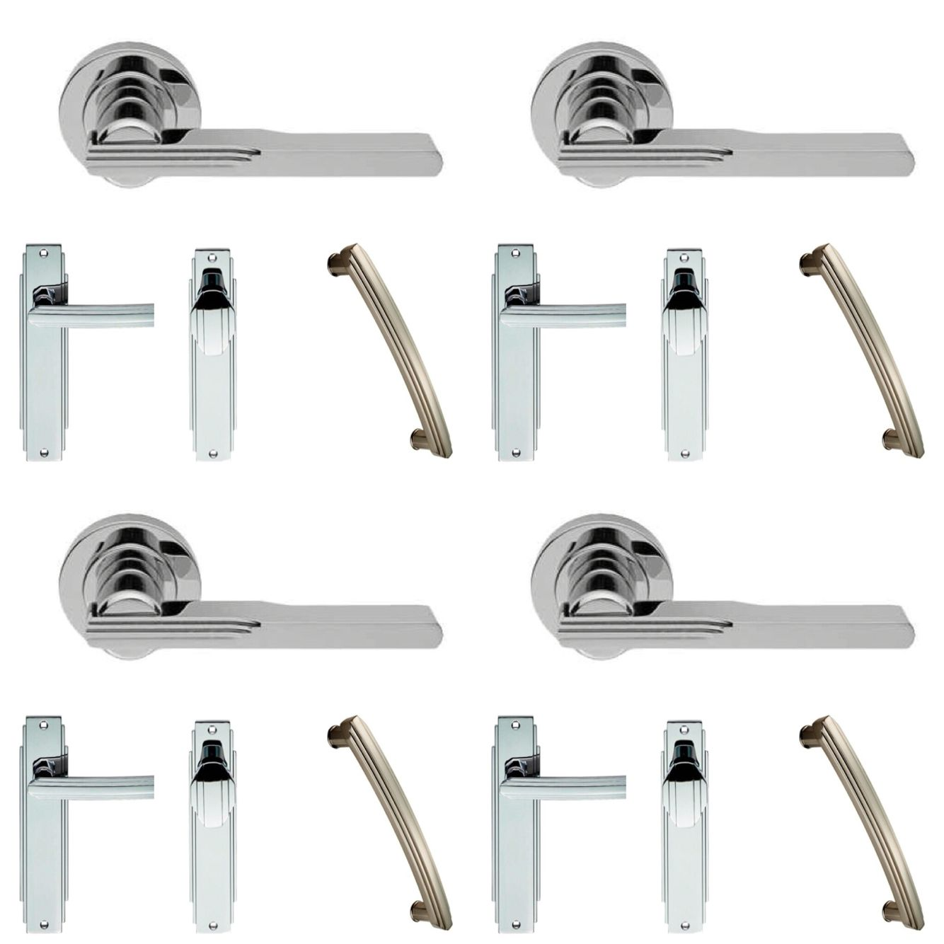 New art deco handle range from gradans door handle pinterest