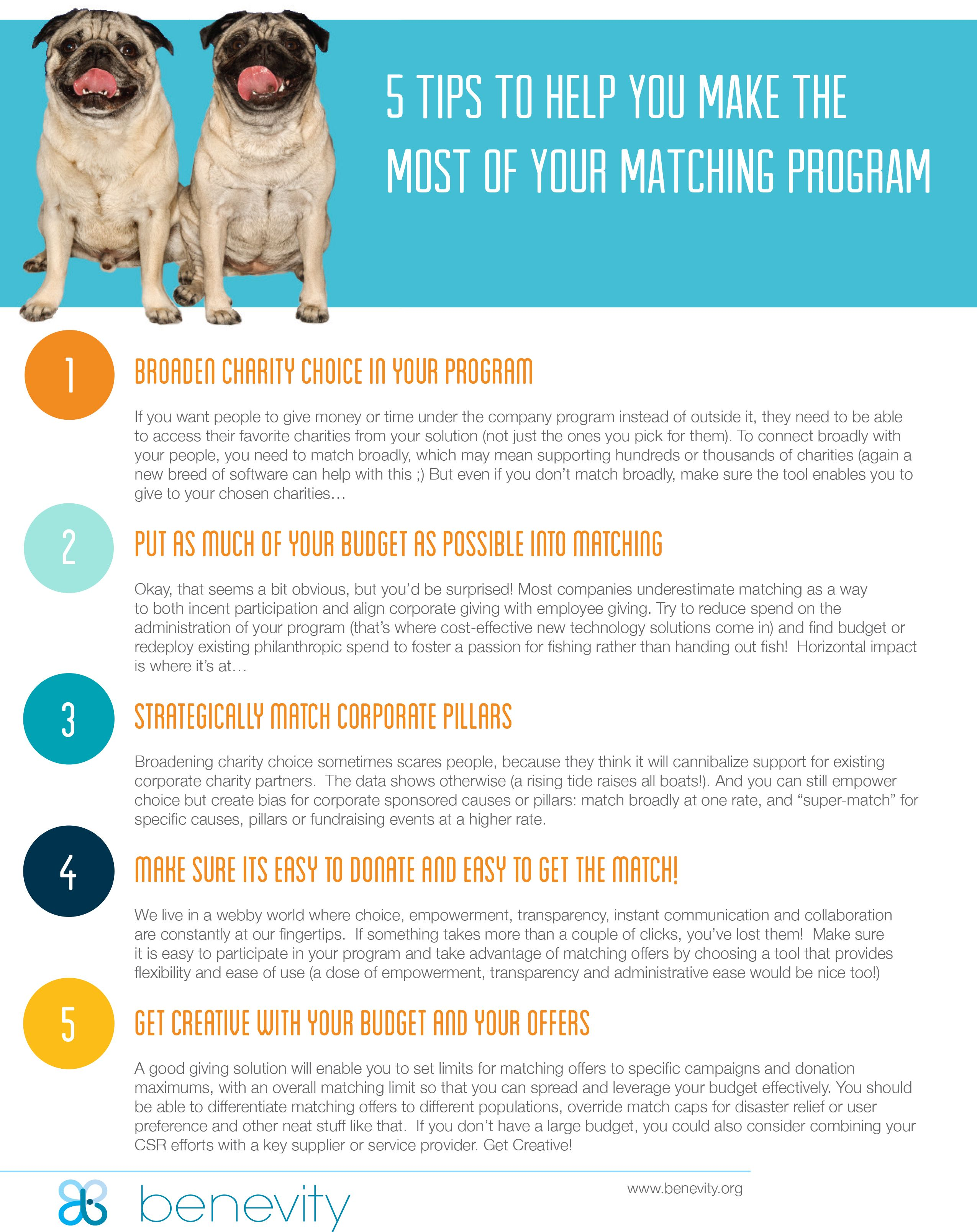 5 Tips to Help You Make the Most of Your Matching Program