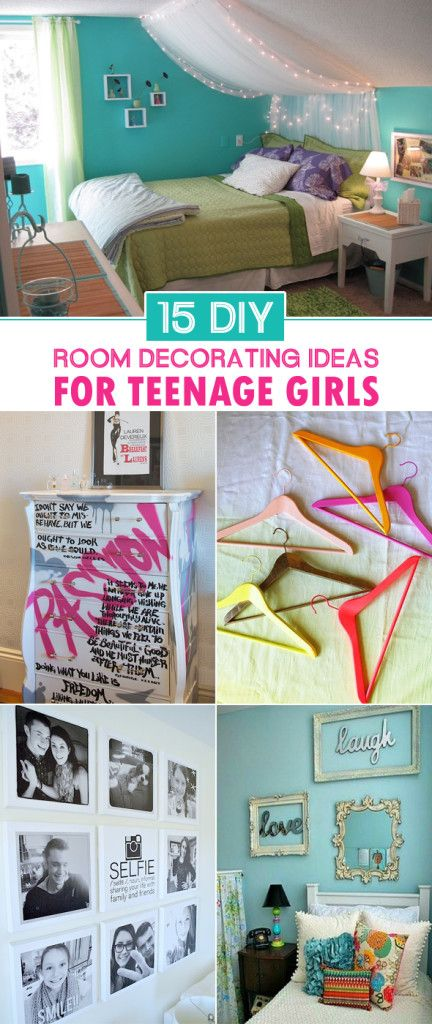 15 DIY Room Decorating Ideas For Teenage Girls Room decorating - Teen Room Decorating Ideas