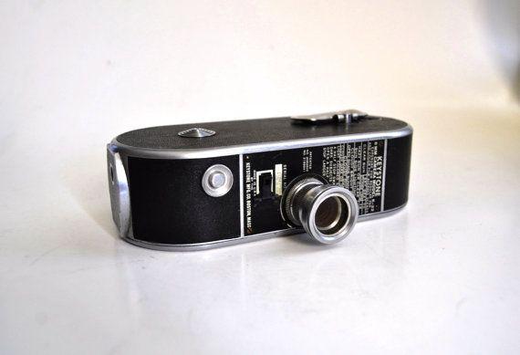 Keystone K-22 Video Camera 8mm Film 1940s 30s 40s Nice