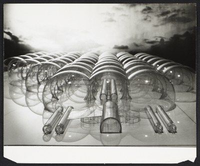 Citation Model Of An Inflatable Structure Submitted To The Italian Pavilion For 1967 Worlds Fair Osaka Design By Paolo Lomazzi Donato DUrbino