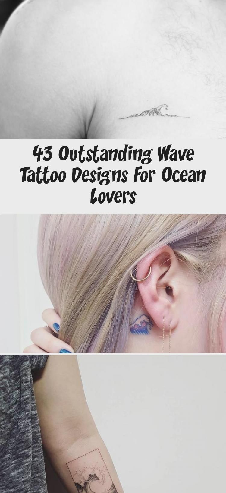Photo of 43 Outstanding Wave Tattoo Designs For Ocean Lovers – Tattoos