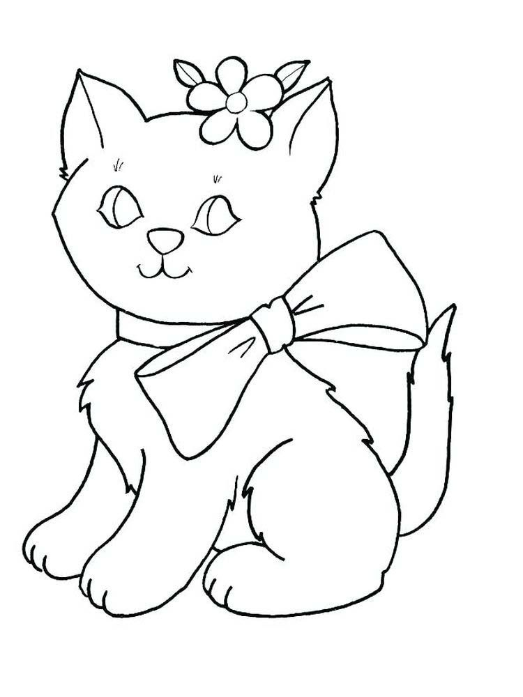 Kawaii Kitten Coloring Pages The Kitten Is A New Born Little Cat This Term Is Used For Cats Under The Cat Coloring Page Sleeping Kitten Animal Coloring Pages