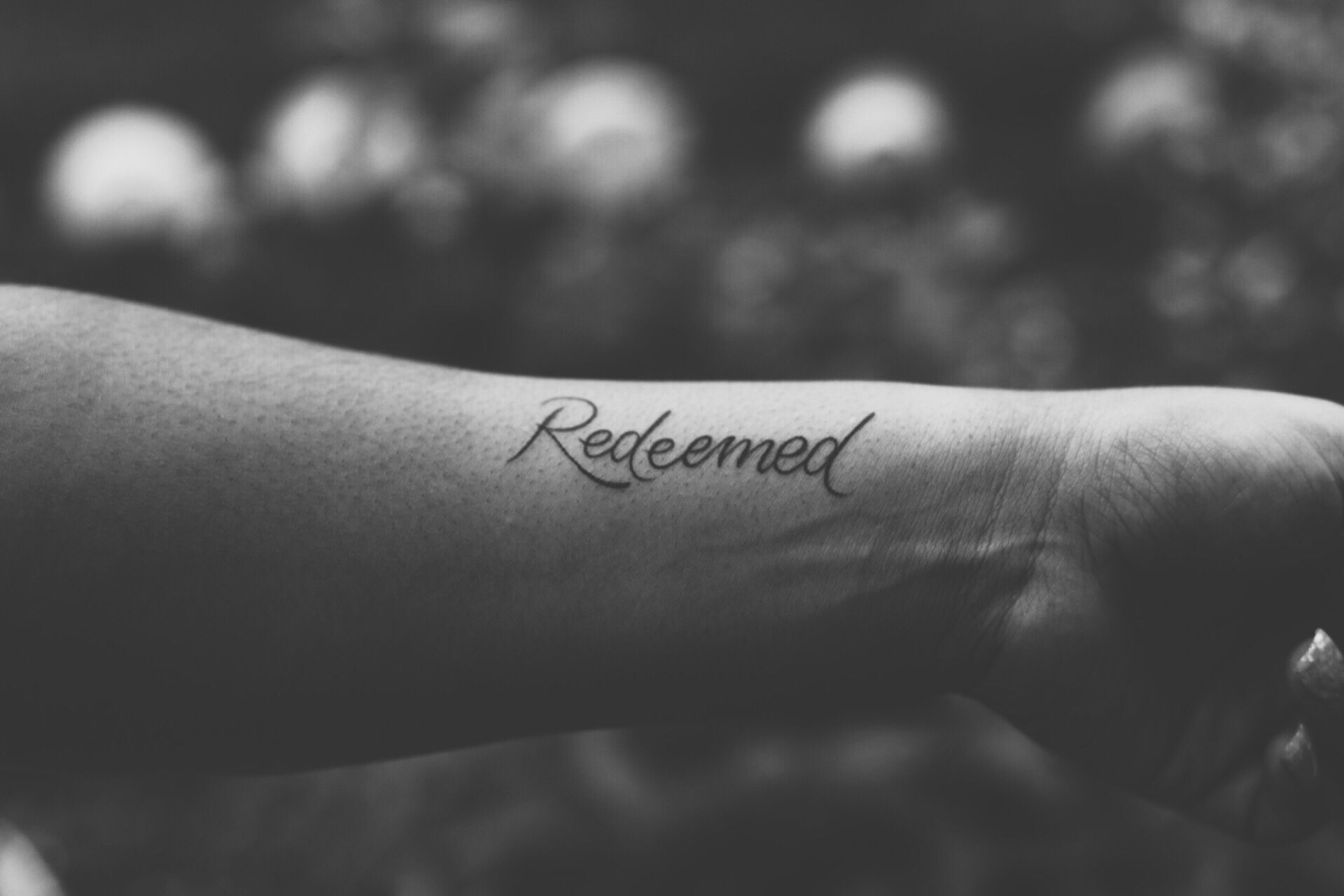Redeemed.  pic-cred: Caroline BW tattoo artist: Jake @ call of the wild