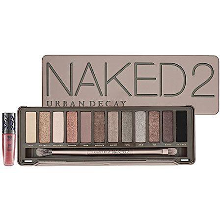 Naked 2. Urban Decay make-up.
