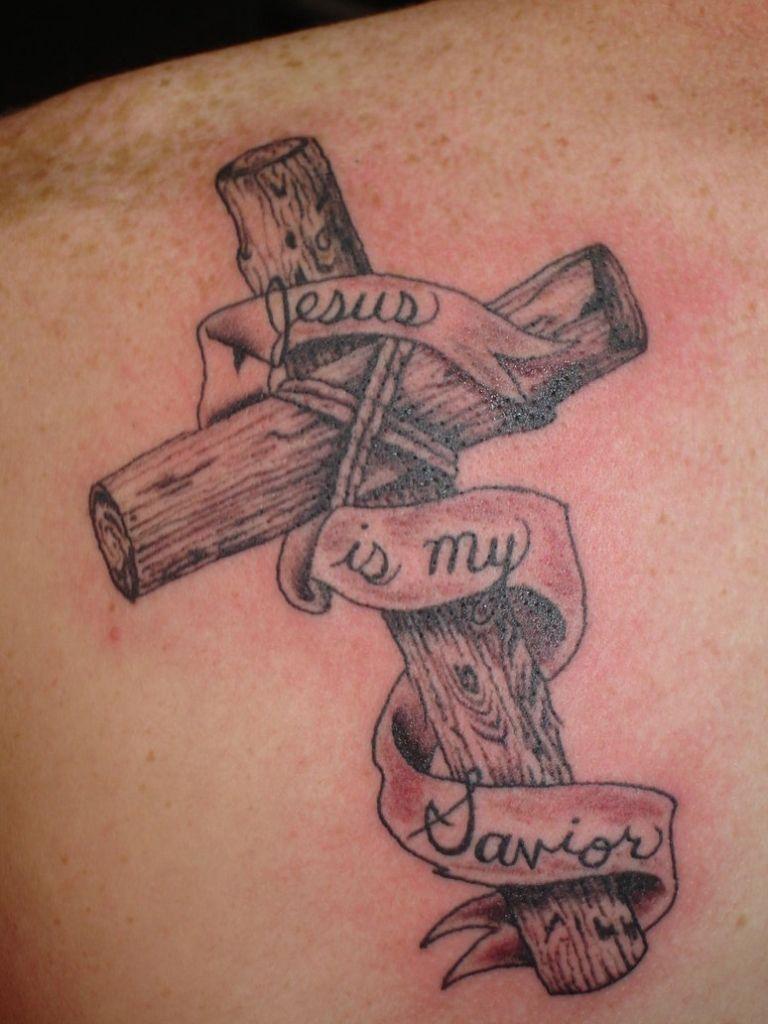 Cross Tattoo With Crown Of Thorns Thorn Cross Tattoo Tattoo