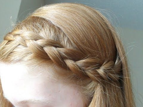 Awesome How To Dutch Braid Inverted French Braid Youtube Hair Dos Hairstyle Inspiration Daily Dogsangcom