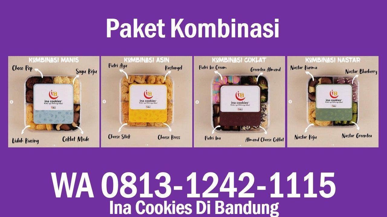 Ina Cookies Di Bandung Wa 0813 1242 1115 Kue Kering Nastar Coklat