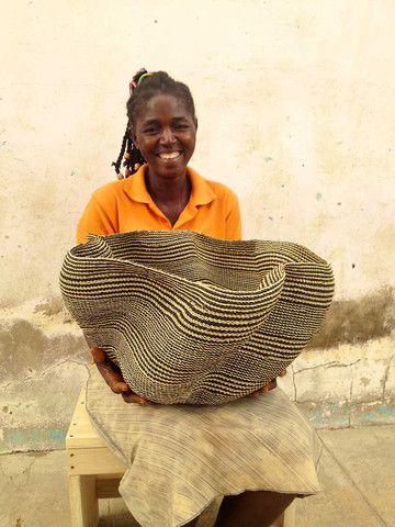 Pakurigo Wave Basket by Aniahmama Akugre