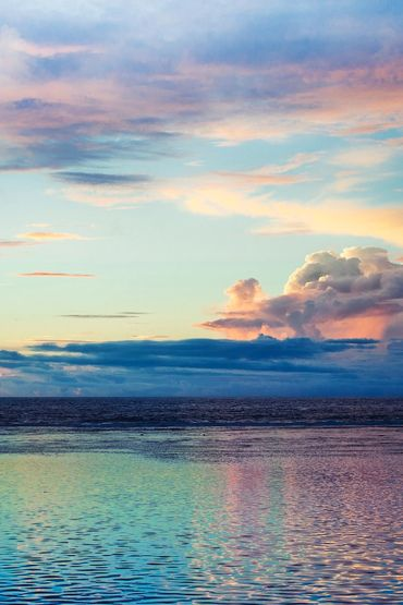 multi coloured sky