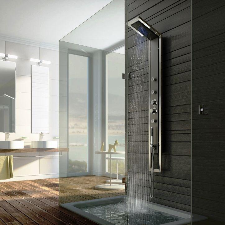Exklusiv Regendusche Duschpaneel Jaguar Industrio Von Deante Duschsystem Erhaltlich Im Ebay Shop Bluemabell Mit Bildern Traumhafte Badezimmer Bad Inspiration