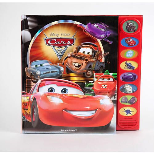 Disney Pixar Cars PlayaSound Book Monkey Would Love - Cars 2 cool cars book