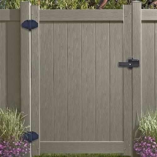 D D Lokklatch Magnetic Gate Lock W Unique Push Pull Action Backyard Gates Backyard Gate Locks