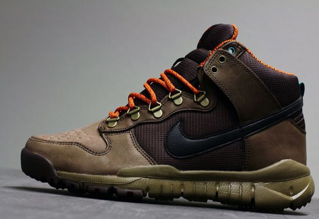 """save off 92ce4 ebdf5 ... Nike Dunk High OMS (Off Mountain Series) """"Baroque Brown"""" ..."""
