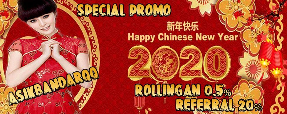 Special Promo Tahun Baru Imlek di Asikbandarqq di 2020