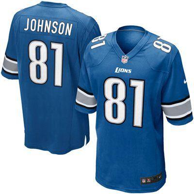 02231b60 Nike Calvin Johnson Detroit Lions Game Jersey | Detroit Lions Shop ...