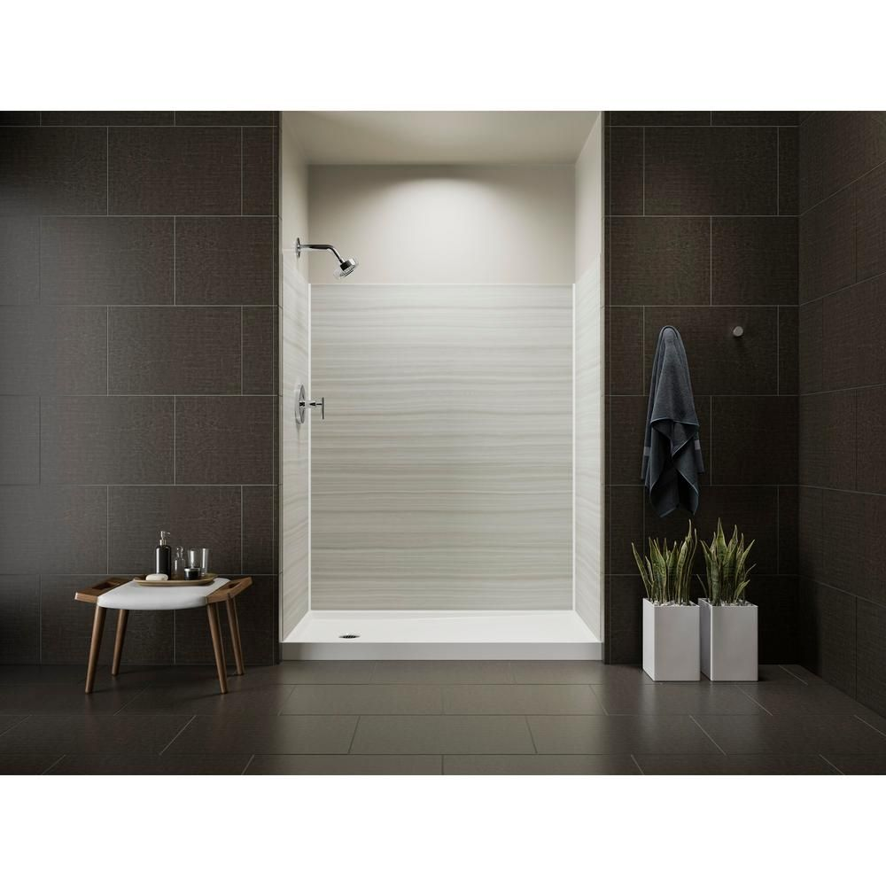 Kohler Choreograph 32 In X 60 In X 72 In Shower Kit With Left