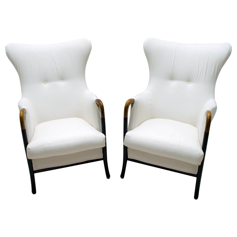 Pair Of Armchairs Progetti 1990S Italian