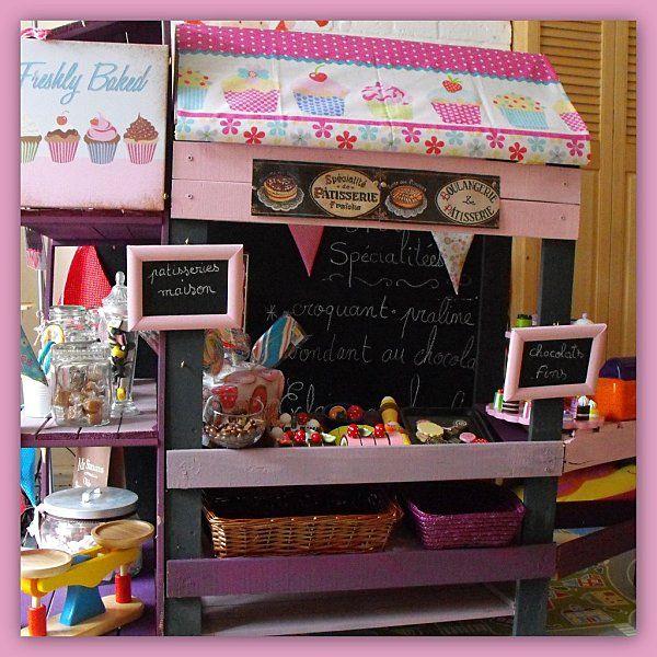 fabriquer un jeu de marchande salle de jeux pinterest jeux jeux de marchande et marchand. Black Bedroom Furniture Sets. Home Design Ideas