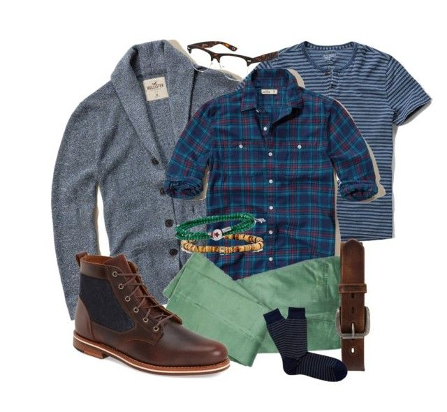 """""""luck of the corduroy"""" by jeffrie-st-james ❤ liked on Polyvore featuring Hollister Co., Abercrombie & Fitch, Jeepers Peepers, Emanuele Bicocchi, Isaia, Bed